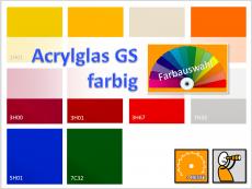 Acrylglas GS farbig - PLEXIGLAS