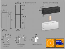 Alu-Rahmenprofil 10