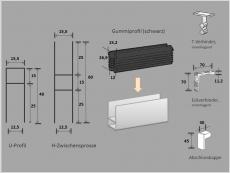 Alu-Rahmenprofil 6