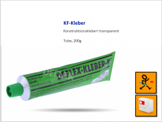 KF-Kleber transparent
