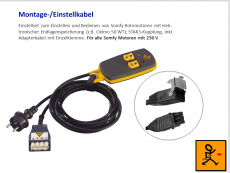 SOMFY Einstellkabel