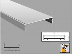 Klemmdeckel 60, Aluminium