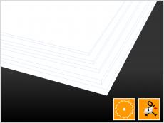 Acryl, weiß, Platte - PLEXIGLAS