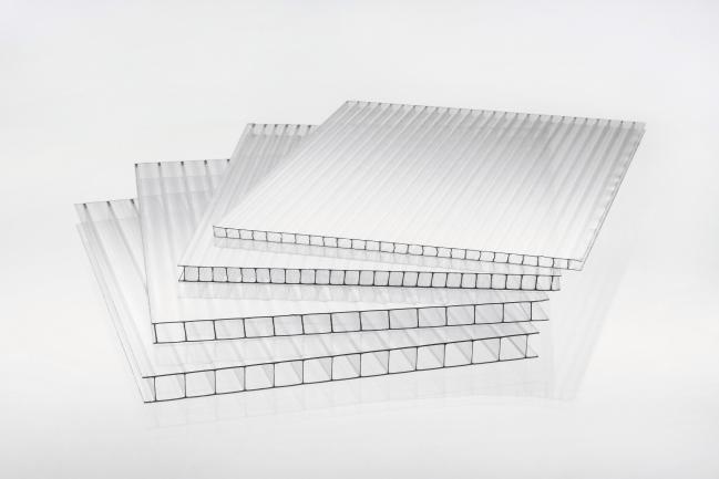 PC-Hohlkammerplatte multi UV10 10-6 weiß - MAKROLON