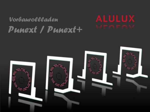 Vorbau-Rollladen, PUNEXT - Alulux