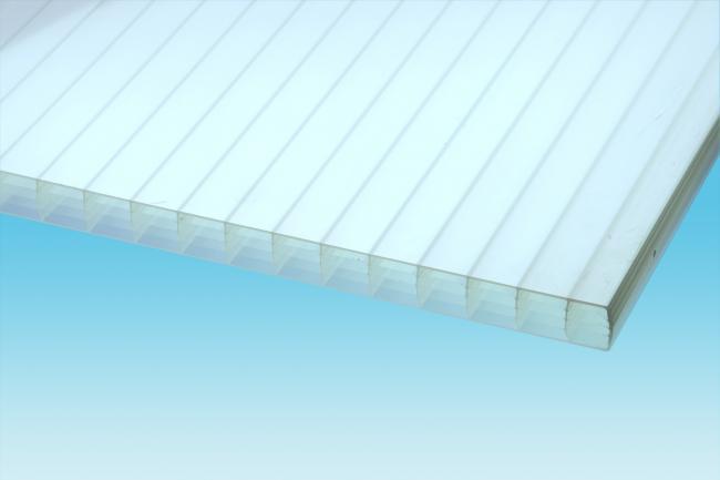 Stegfünffachplatte (S5P), 32-32, HEATSTOP- PLEXIGLAS