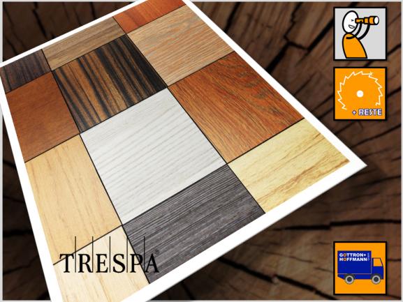 Verkleidungsplatte, wood-struktur - TRESPA METEON