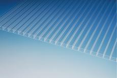 Stegdreifachplatte (S3P), 16-24, farblos glatt - PLEXIGLAS